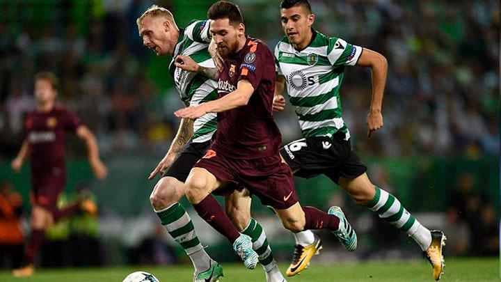 Resultado de imagen para barcelona vs sporting lisboa
